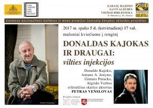 Donaldo Kajoko skelb Zarasuose-2